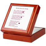 Keepsake Box with Poetry by Penelope
