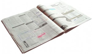 Newspaper Job Section