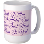 Mother's Day Poem - Pink Mug