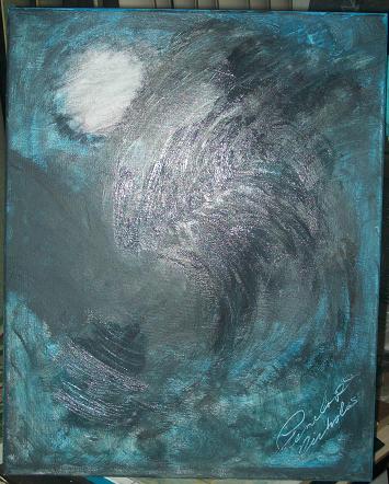 Midnight Storm - Acrylic on Canvas
