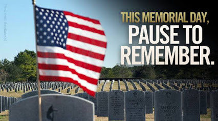 Memorial Day - Take Pause To Remember