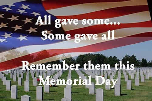 Remember Them This Memorial Day..